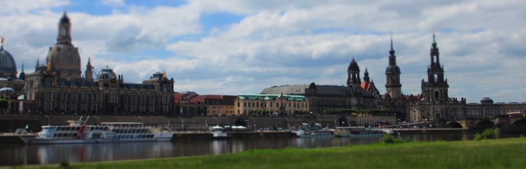 Blick auf Dresden aus der Touristenperspektive... 2012