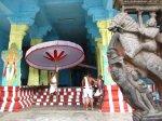 Im Devarajaswami Temple , gewidmet dem Gott Vishnu