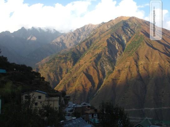 Aussicht im Chamba-Valley