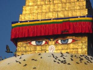 Buddha's Eyes @Bodhanath Stupa