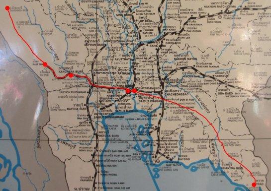 Roadtrip Sangkhlaburi-Trat