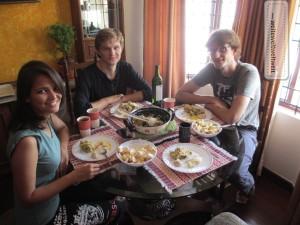Couchsurfing bei Vlad und Mariam in Bangalore/Indien
