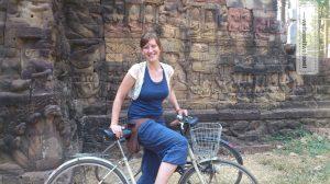 Radeln durch Angkor Wat/Kambodsche