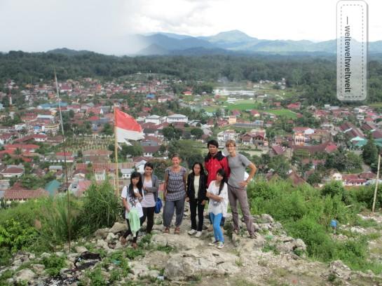 Aussichtspunkt über Rantepao