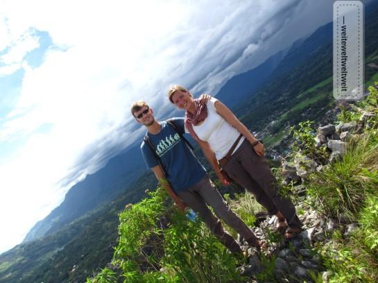 Bergiges Toraja-Land: noch einen Gipfel besteigen