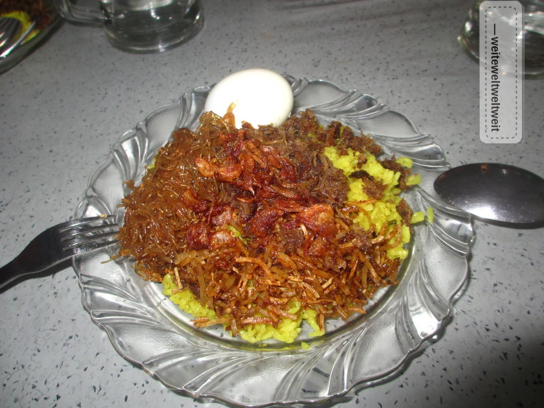 Rezept Nasi Kuning aus Indonesien