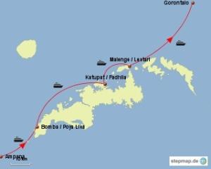 stepmap-karte-weiteweltweltweit-trip-to-togeans-1285830