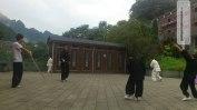 Eine Tai Chi Trainingseinheit