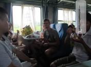 On the road/train again...