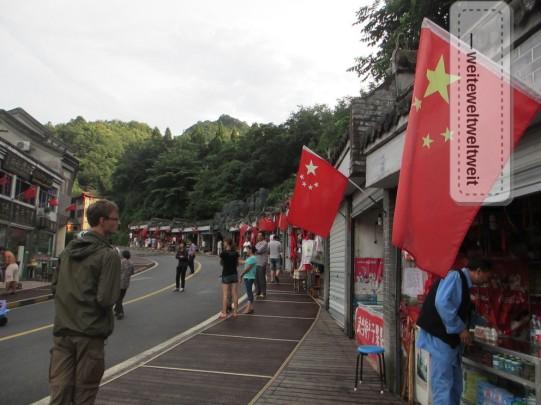 Straßenbild in Nanyen