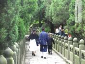 Auch heute noch leben Mönche hier oben in Wudangshan