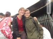 Oben gibt's nen Tempel und viiieeele Chinesen (und uns)