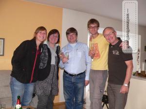 Zurück in Zwickau mit unseren Eltern