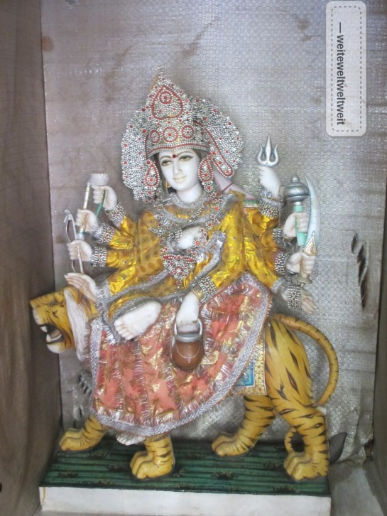 Göttin Durga (Shri Trayanbakshwar)