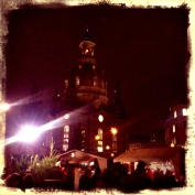 The famous Dresdner Frauenkirche, of course a Christmas market in front