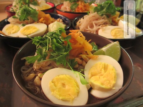 Sarawak Laksa: Guten Appetit!