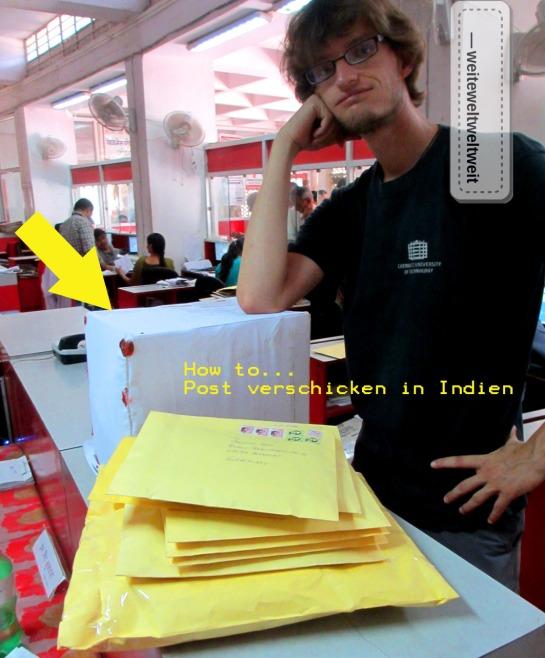 Abenteuer Paket verschicken in Indien