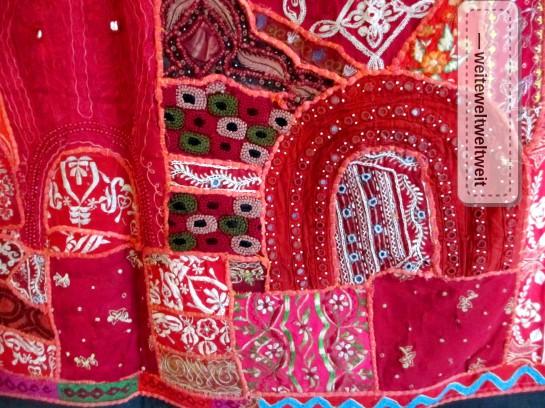 Rajasthan Teppich - Detail