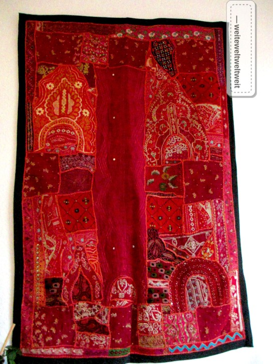Rajasthan Patchwork Teppich