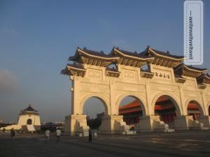 Umstrittenes Gebäude und viel neuere Geschichte: Chiang Kai Shek Memorial