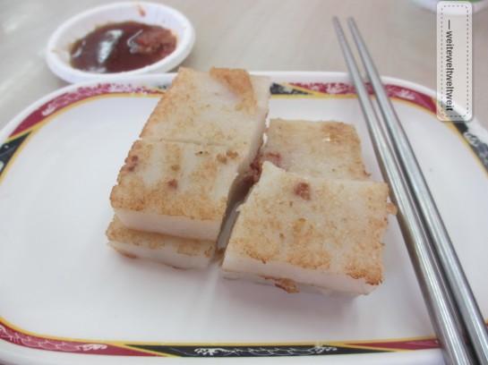 Luo Bo Gao - Taiwanese Raddish Cake
