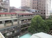Blick von der Dachterasse im Taipei Hostel...authentisch taiwanesisch