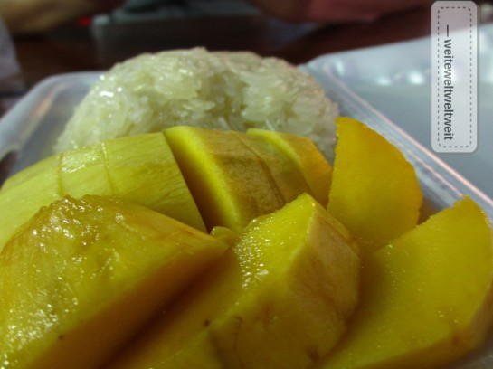 Mango Sticky Rice in Thailand